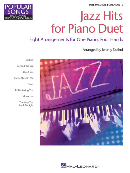 Jazz Hits for Piano Duet (cover)
